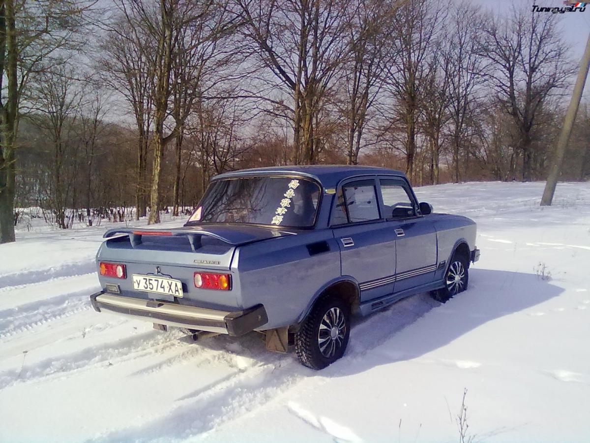 Авто своими руками из москвича