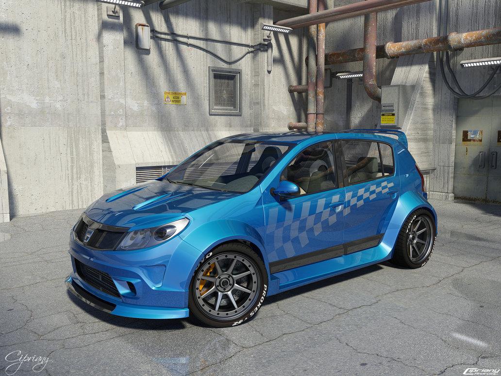12 мая 2012.  Dacia Sandero Tuning…