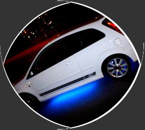 Как сделать неоновую подсветку на машину?